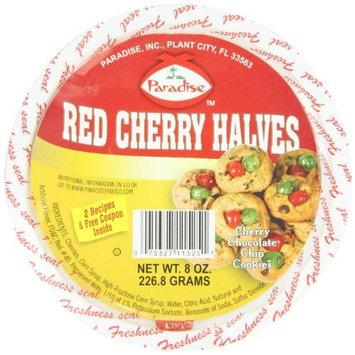 Paradise Cherry Halves, Red, 8 Ounce