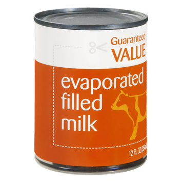 Guaranteed Value Evaporated Milk