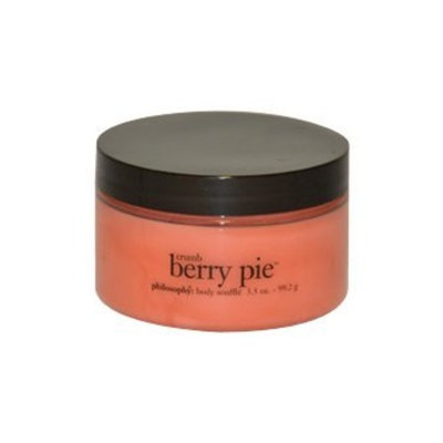 Philosophy Crumb Berry Pie Body Souffle Unisex, 3.5 Ounce