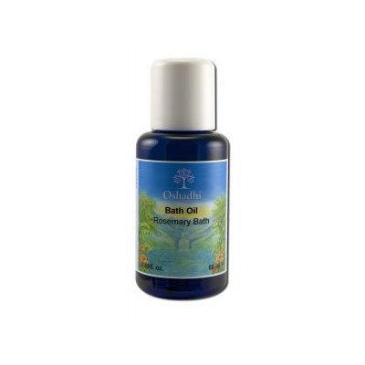 Oshadhi - Skin Care Oils, Bath Oil - Rosemary 50 mL