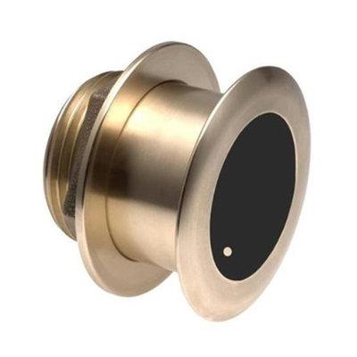 Garmin B175H 1kW Bronze Tilted Thru-hull Transducer with Depth & Temperature (20� tilt, 8-pin)
