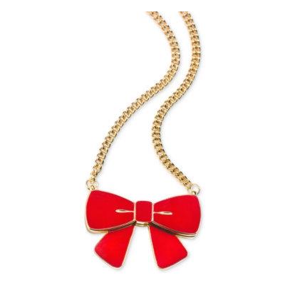 Estée Lauder Charming Bow Pendant Solid Perfume Compact