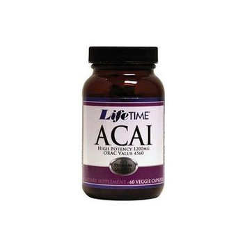 Lifetime Acai -- 1200 mg - 60 Vegetarian Capsules