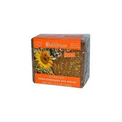 Bavarian Breads B34823 Bavarian Breads Sunflower Seed Rye Bread -6x17. 6oz