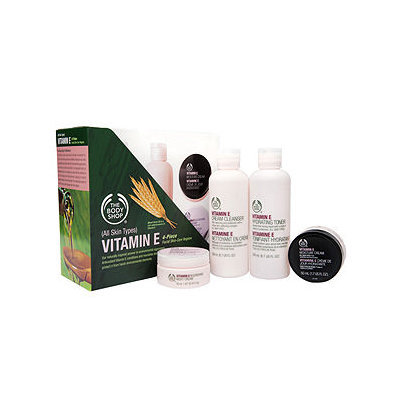 The Body Shop Vitamin E Skincare Regiment Kit