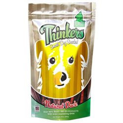 Plato Pet Treats - Thinkers Dog Treats Duck Sticks - 10 oz.