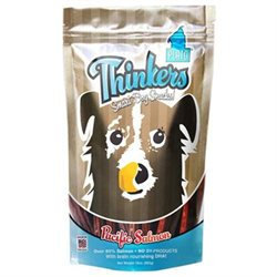 Plato Pet Treats - Thinkers Dog Treats Salmon Sticks - 10 oz.