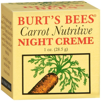 Burt's Bees Carrot Nutritive Night Creme
