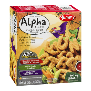 Yummy Alpha Buddies Chick Breast Nuggets