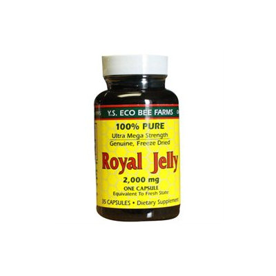 YS Royal Jelly/Honey Bee Royal Jelly 2000 MG - 35 Capsules - Bee Products