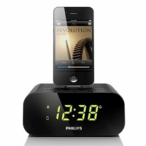 Philips Dual Alarm Clock Radio for iPod/iPhone