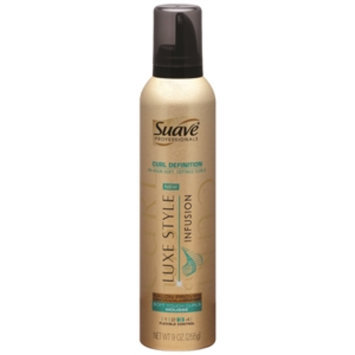 Suave Curl Defining Whipped Cream Mousse, 9 oz