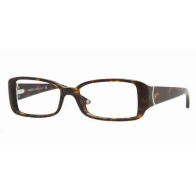 Versace Women's 3118 Dark Tortoise Frame Plastic Eyeglasses, 52mm