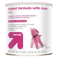up & up Infant Formula Soy - 25.7oz