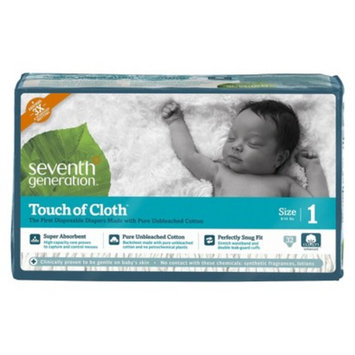 Seventh Generation Touch of Cloth™ Size 1 Baby Diapers