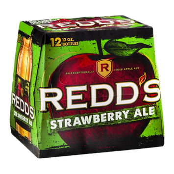 Redd's Strawberry Ale - 12 CT