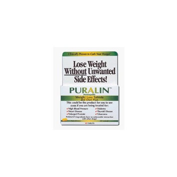 Apothecary Products Puralin Weight Loss Tablets - 40