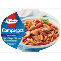 Hormel Microwaveable Compleats Cafe Creations Spicy Ginger Chicken 10 oz (Pack of 6)