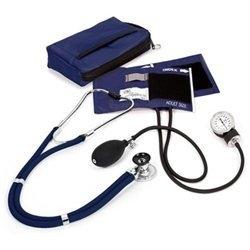 Prestige Medical Aneroid Sphygmomanometer Sprague with Rappaport Stethoscope Kit