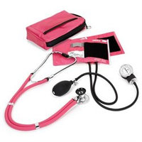 Prestige Medical Aneroid Sphygmomanometer Sprague with Rappaport Stethoscope Kit Color: Passion