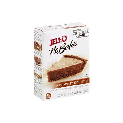 JELL-O Pumpkin Style Pie No Bake Dessert Mix