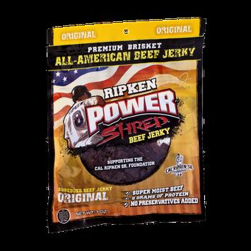 Ripken Power Shred Beef Jerky Original