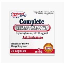 Pharbest Allergy Relief Antihistamine Diphenhydramine 25 mg
