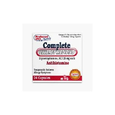 Pharbest Allergy Relief Antihistamine Diphenhydramine 25 mg