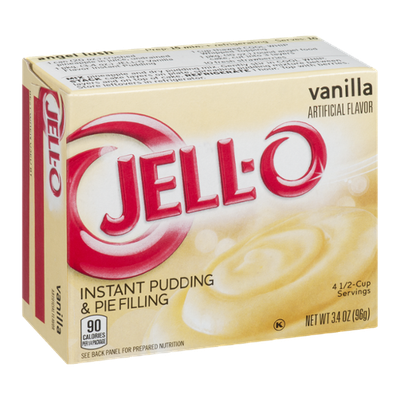 JELL-O Instant Pudding & Pie Filling Vanilla
