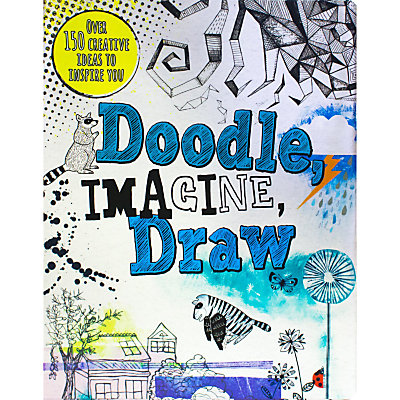Doodle, Imagine, Draw Activity Book