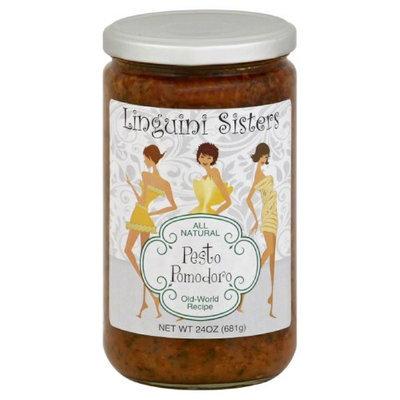 Linguini Sisters 24 oz. Sauce Pasta Pomodoro - Case Of 6