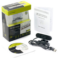 Gear Head USB HD Webcam with Dual Microphones, WC7500HD