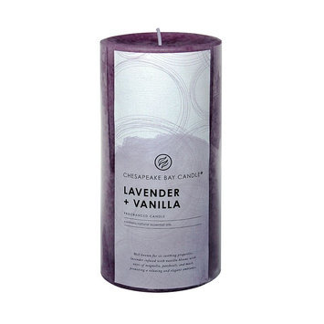 Chesapeake Bay Candle Lavender (Purple) & Vanilla 6-in. Pillar Candle