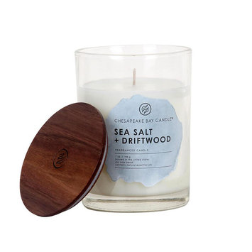 Chesapeake Bay Candle 7.5-oz. Sea Salt (Blue) & Driftwood Jar Candle