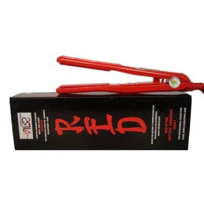 JRS Superstar Vibrating Red Nano Ceramic Tourmaline Flat Iron / Hair Straightener Dual Voltage 110v-220v
