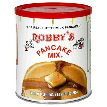 Robby's Buttermilk Pancake Mix, 16-Ounce Cans (Pack of 6)