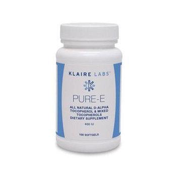 Klaire Labs - Pure E 400 IU 100 gels