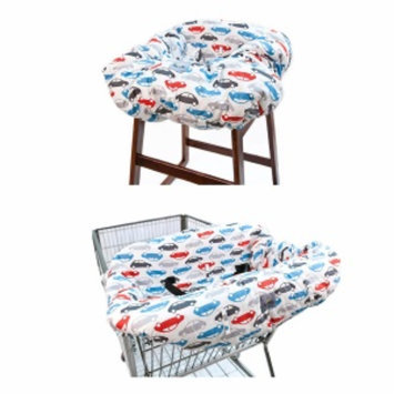 Itzy Ritzy Shopping Cart & High Chair Cover, Rodeo Drive, 1 ea