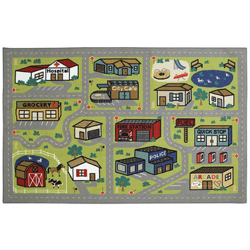 Mohawk Home Smallville Play Rug - 5' x 8' ()
