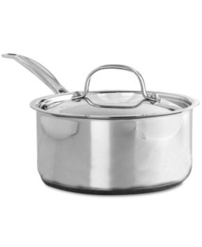 Cuisinart Chef's Classic Stainless Saucepan with Cover