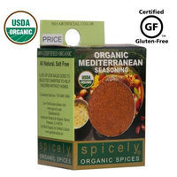 Spicely Organic Spices Spicely Organic Seasoning, Mediterranean Salt Free, 0.5 Ounce