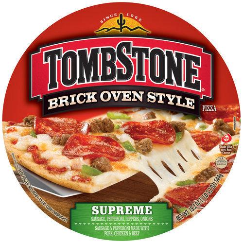 Tombstone Brick Oven Style Supreme Pizza, 19.2 oz
