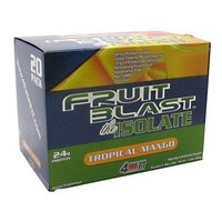 4Ever Fit Fruit Blast Isolate, Tropical Mango, 20 - 1 Ounce Packs