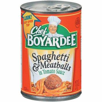 Chef Boyardee : In Tomato Sauce Spaghetti & Meatballs