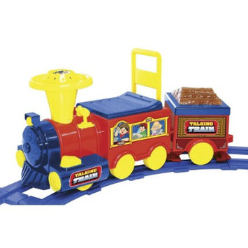 National Products LTD. National Products 6V Battery Operated Talking Train with Track