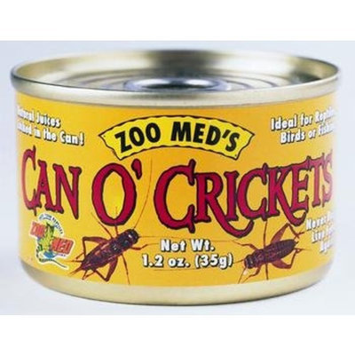 Zoo Med Can O' Crickets 60 crickets per can - 1.2 oz