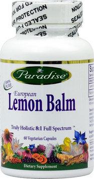 Paradise Herbs European Lemon Balm 60 Vegetarian Capsules