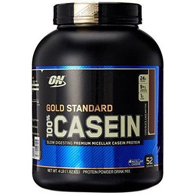 Optimum Nutrition Gold Standard 100% Casein Diet Supplement, Chocolate Cake Batter, 4 Pound