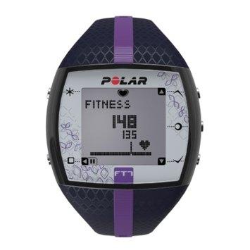 Polar FT7F Heart Rate Monitor, Blue & Lilac, 1 ea