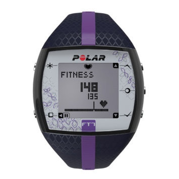Polar FT7F Heart Rate Monitor, Blue & Lilac, 1 ea